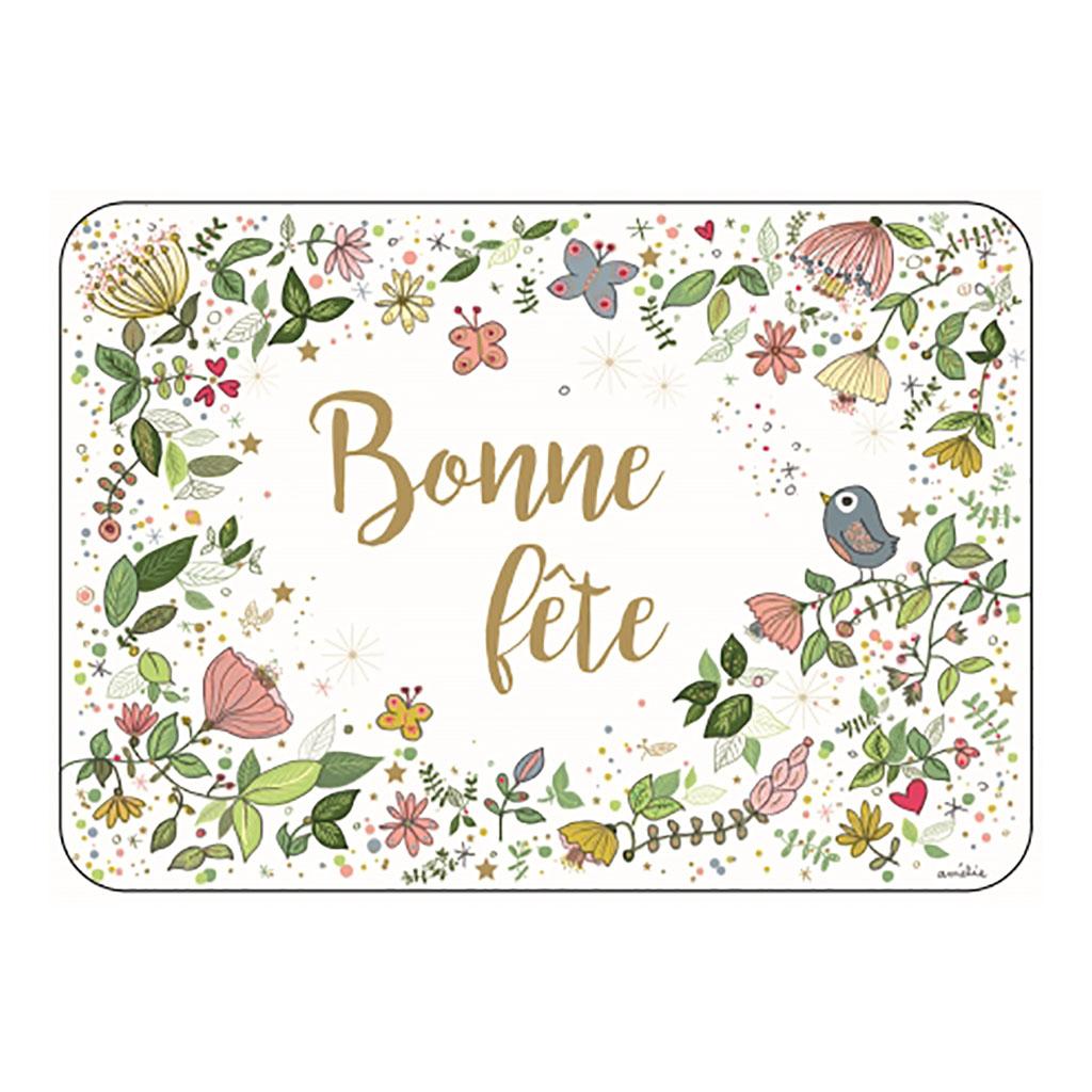 Carte Bonne Fete Little Marmaille