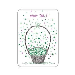 Carte - De la chance pour toi - Cartes D'art