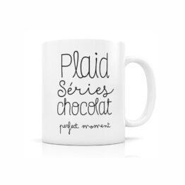 mug plaid série chocolat créa bisontine