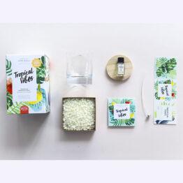 kit bougie tropicale la petite épicerie