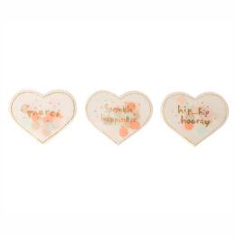 coeur confettis maileg