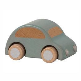 voiture en bois bleue maileg