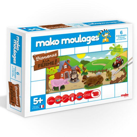 Coffret de création bienvenue à la ferme mako création