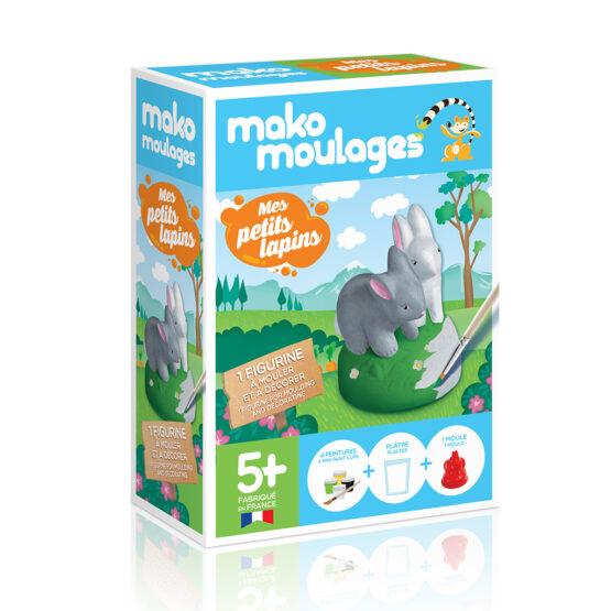 Coffret mes lapins mako création