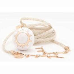 bolas soleil blanc avec cordon lola