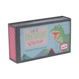 packaging boîte troupeau de dinosaure