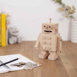 tirelire robot Carpenter