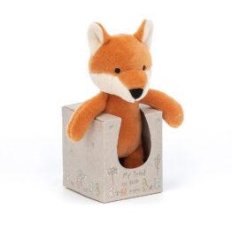 Doudou mon ami renard + packaging