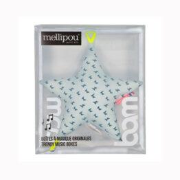 Boîte coussin musical étoile Morrison Mellipou