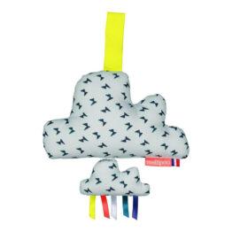 Coussin musical nuage Morrisson Mellipou