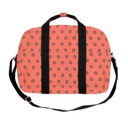 sac bowling rose corail de rose in april