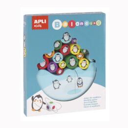 packaging jeu d'équilibre pingouins Apli