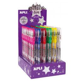 stylo à paillette Apli