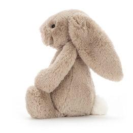doudou lapin beige jellycat de profil