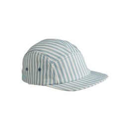 Casquette rayures bleues et blanches liewood