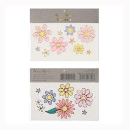 tatouage fleurs Meri Meri