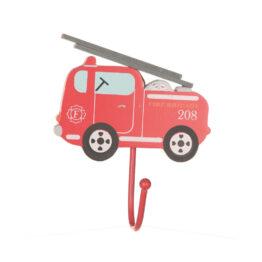 Patère camion de pompier Saas&belle