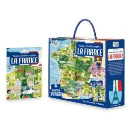 Boîte puzzle france
