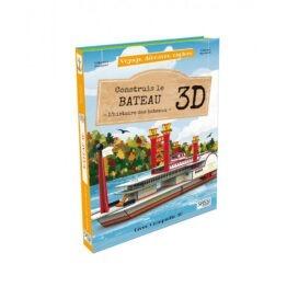 Livre maquette 3D sur les bateaux