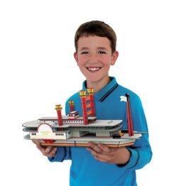 maquette 3D bateau vapeur