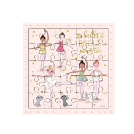 carte puzzle danseuse