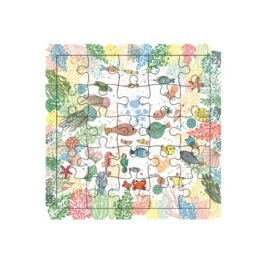 carte puzzle océan