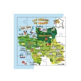 carte puzzle région Nord-Ouest