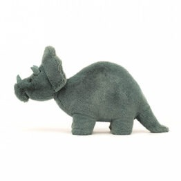 Doudou Triceratops Fossilly