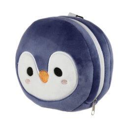 Coussin de voyage pingouin