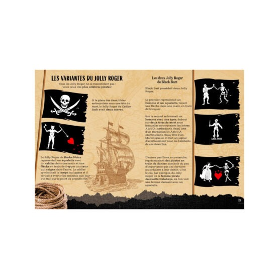 SASSI livre aventure pirates