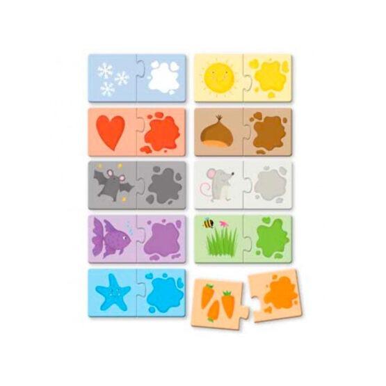 SASSI puzzle couleurs
